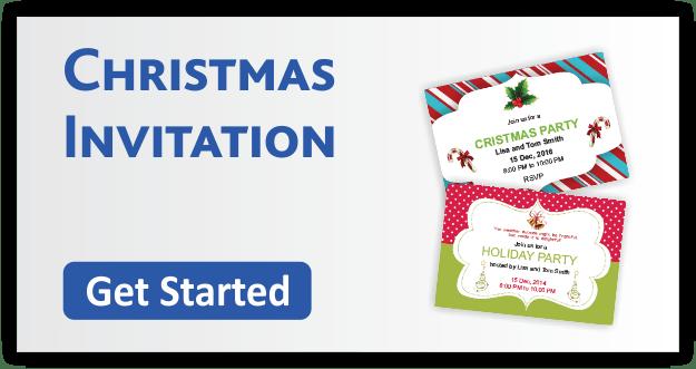 Christmas Invitation Cards