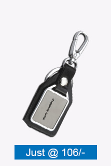 Black Leatherite Key Chain BKC-572