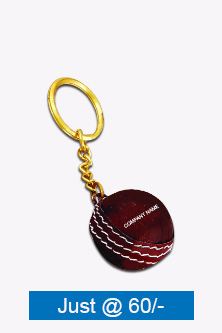 Cricket Ball Key Chain BKC-520-RED