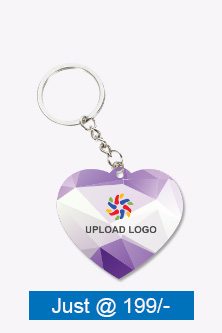 Business Shades Heart Key Chain