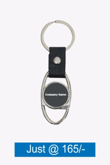 Printed Gray Key Ring Torch With Opener J30