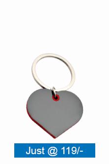 Customize-Heart-Shape-Keychain