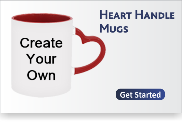 Heart Handle Mugs