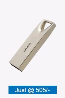 V Shape Hole Metal Pen Drive
