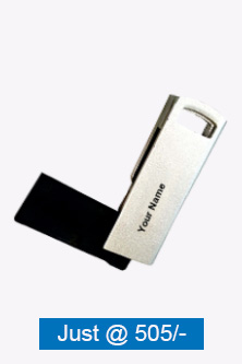 Knife Shape 2 Metal Pen Drive