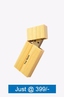Premium Wooden Magnet Pen Drive