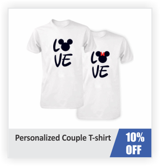 Personalized  Couple T-Shirts