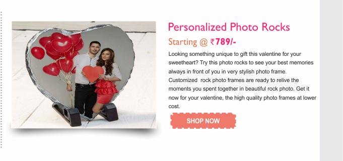 Personalized Photo Rocks