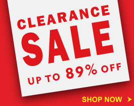 Clearance Sale! Upto 89% Off