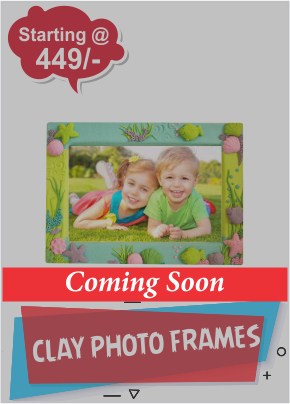 Clay Photo Frames