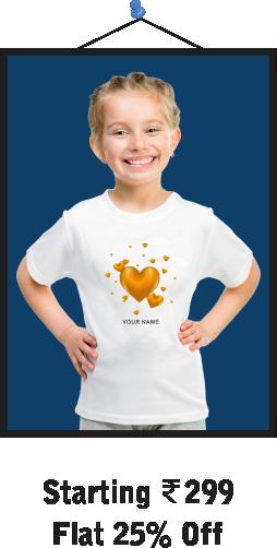 Hearts Kids T-Shirts