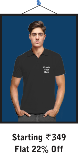 Collar Cotton T-Shirts for Mens