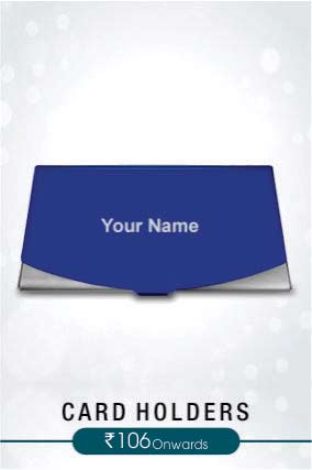 Personalized Card Holders