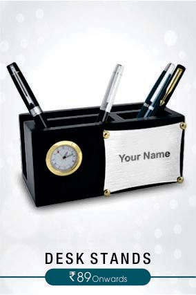 Personalized Desk Stands
