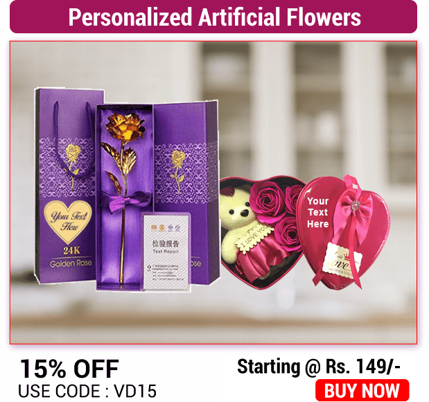 valentines day artificial flowers