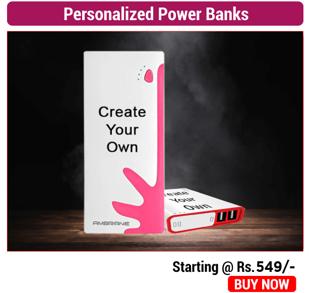 Personalized Power Banks